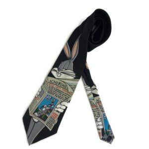 Looney Tunes Bugs Bunny Stamp Collection Tie
